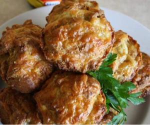 Cheese and Vegemite Muffins