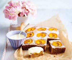 walnut and apricot cake
